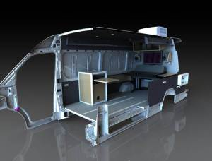 Mobile Broadcast Studio - SolidWorks - Rendered - Built & Out the Door #SolidWorks #PhotoView 360