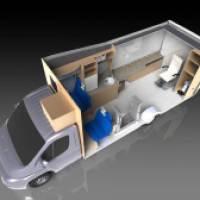 Mobile Eye Clinic - Finally Completed #photoview360 #solidworks