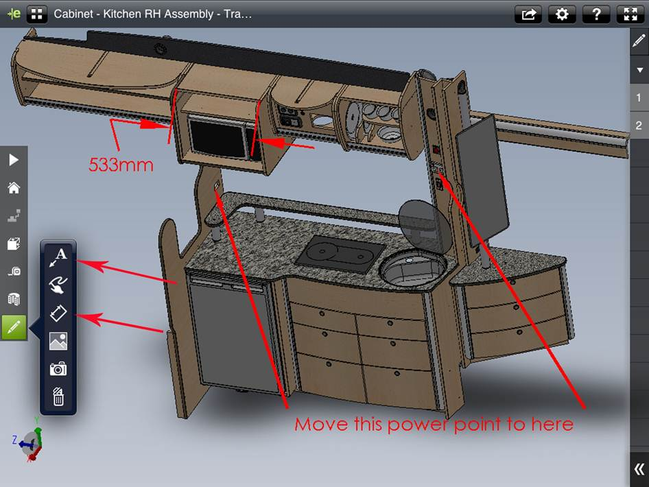 eDrawings Pro for iPad – Now with Mark Up, Measure & Section
