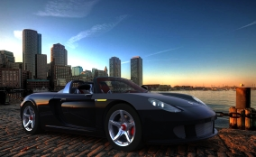 Porsche - Boston Morning