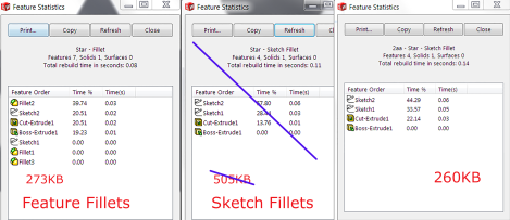 Rebuild - Sketch - Feature Fillets - RevA