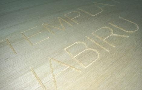 CNC Stick Font