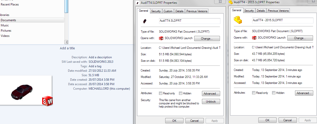 Solidworks 2015 The How Amp Why Of Reduced File Sizes