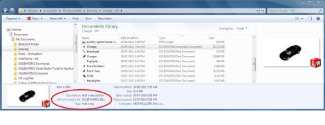 File Version - Windows Explorer