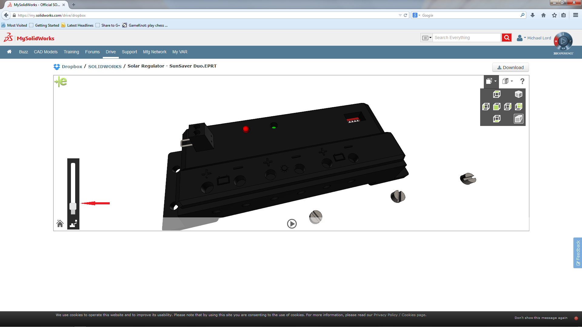 My SolidWorks Drive Incorporates eDrawings – Dropbox & Google Drive