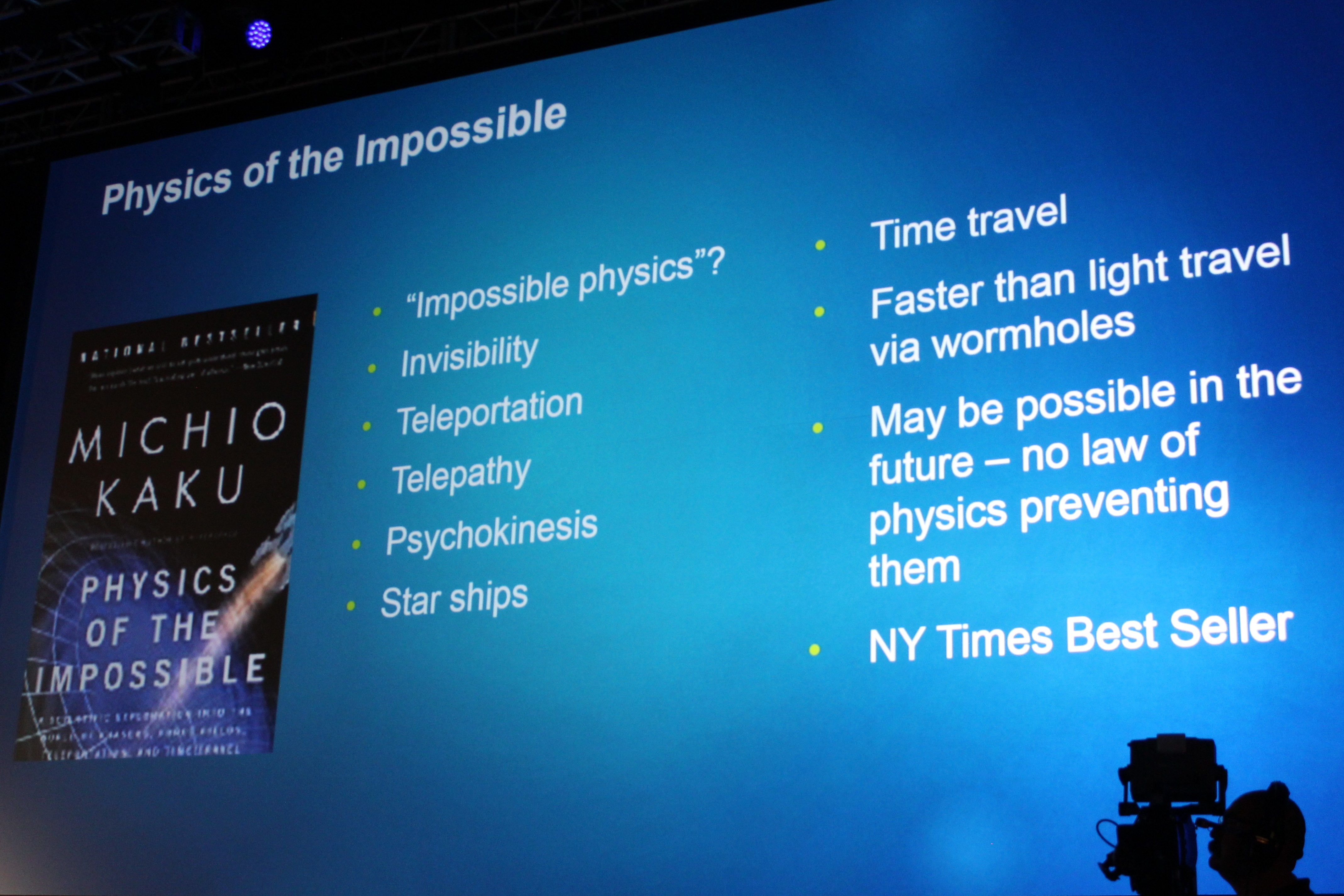 sci fi science physics of the impossible wikipedia