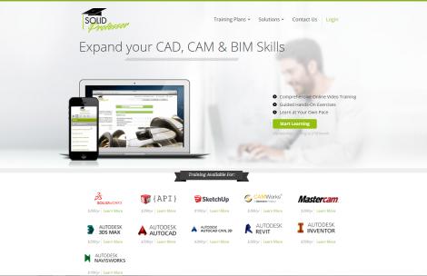 SolidProfessor Web Page