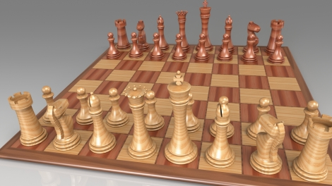 Render on Frame - Chess