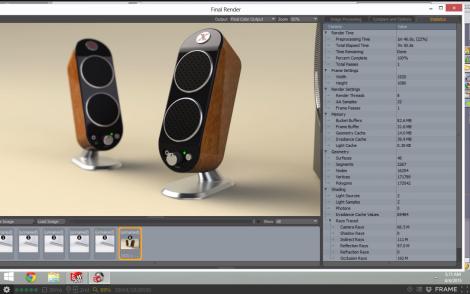 Speaker Render Test - Frame - Aust Server