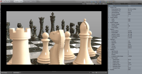 Chess Render - IC3D