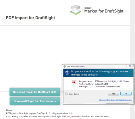 PDFImport for DraftSight - Download