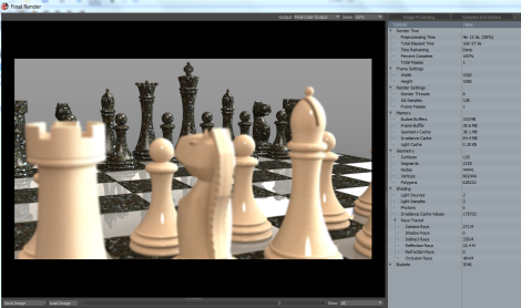 Render - Chess - MSI WT72