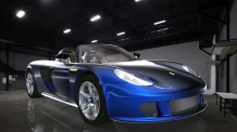 Porsche - Blue