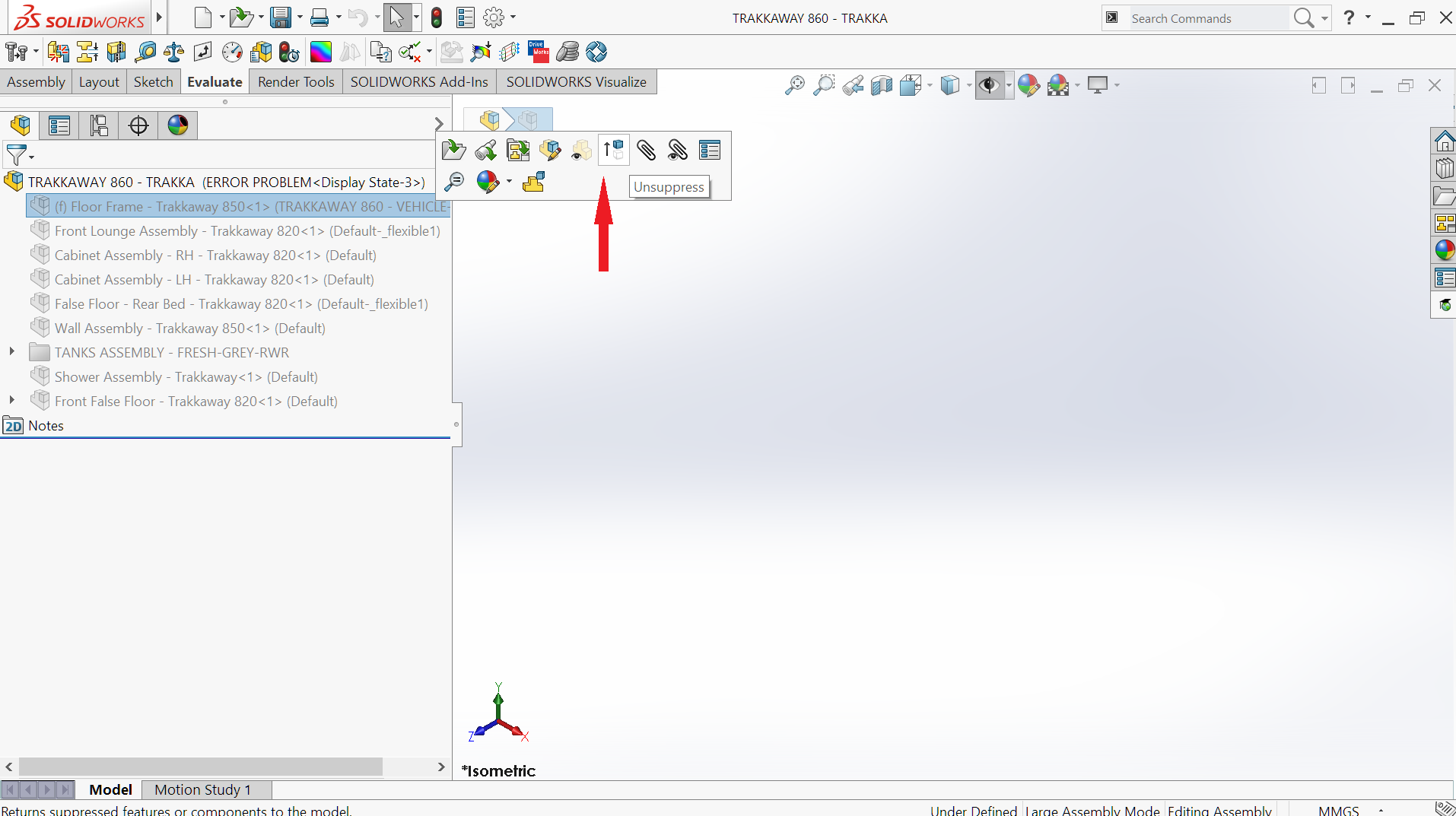 An Error was Encountered … DON'T PANIC – SOLIDWORKS ASSEMBLY