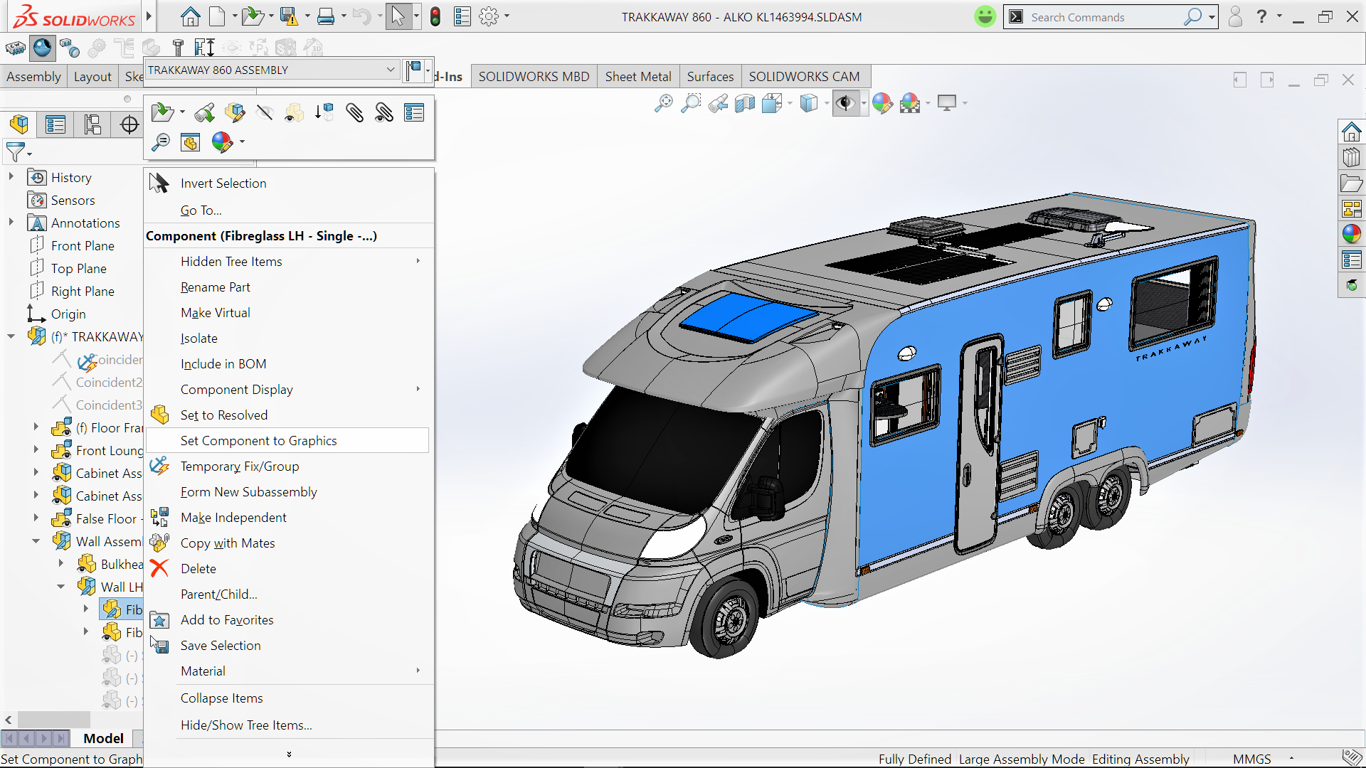 Solidworks 2018 a look at a few assembly enhancements for Ready set decor reviews