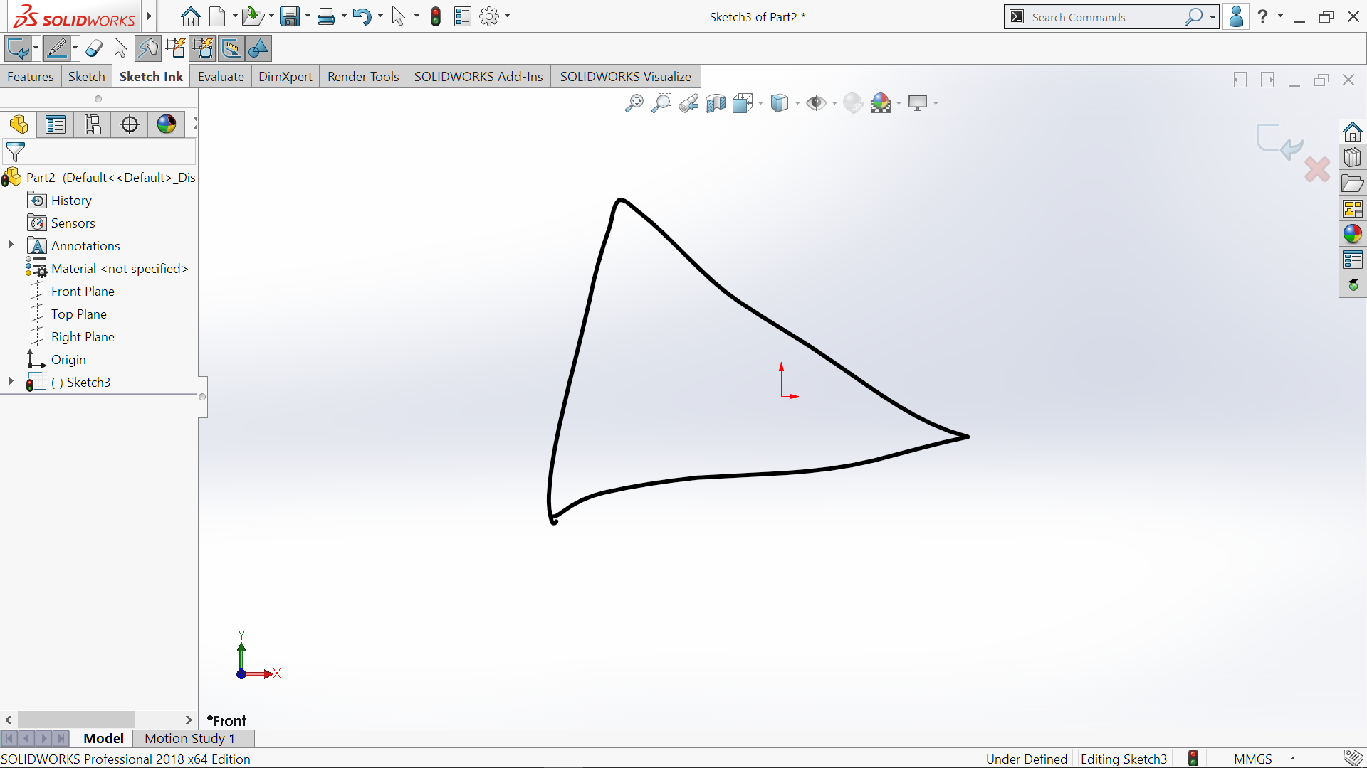 SOLIDWORKS 2018 – A First Look – User Interface & Sketching