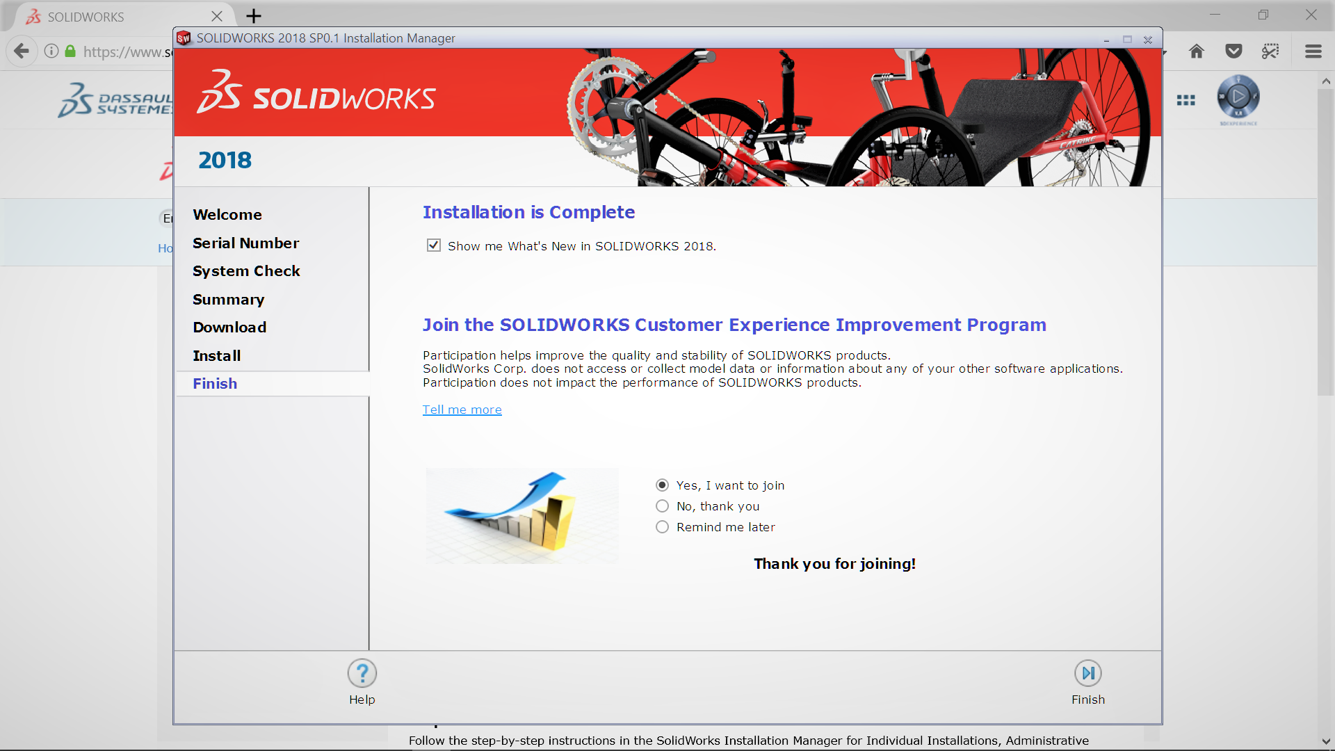 SOLIDWORKS – Crashes! – It is up to you, what happens next