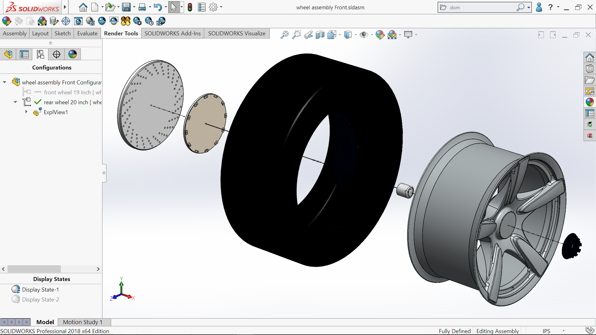 SOLIDWORKS 2018 – A Look at a few Assembly Enhancements