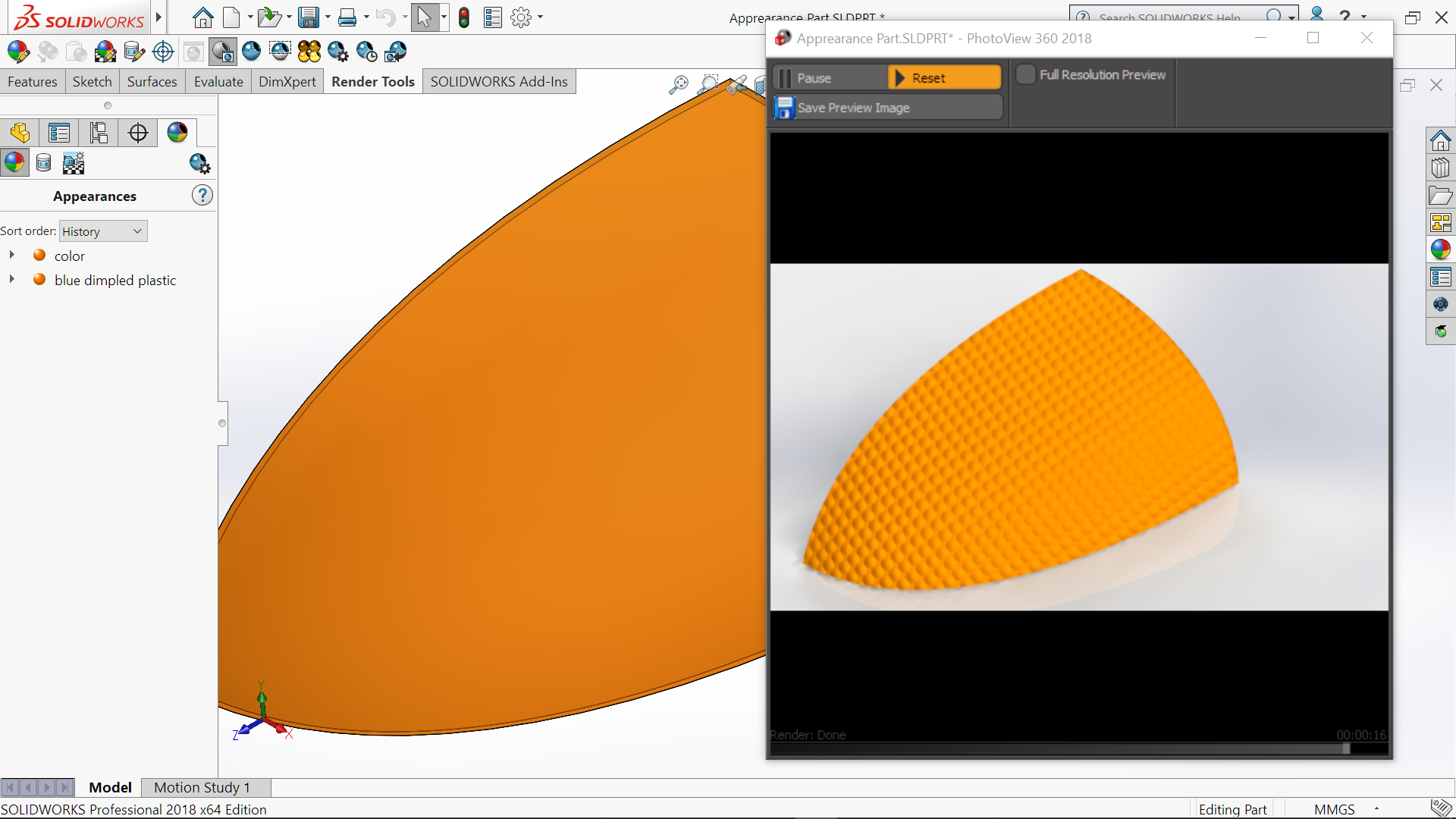 SOLIDWORKS RealView – For All  Non-Approved Graphic Cards
