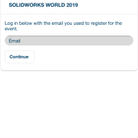 SOLIDWORKS WORLD 2019 - The App #SOLIDWORKS #SWW19