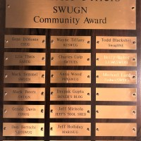 SOLIDWORKS WORLD 2019 - Michelle Pillers Community Contribution Award #SWUGN #SWW19 #SOLIDWORKS